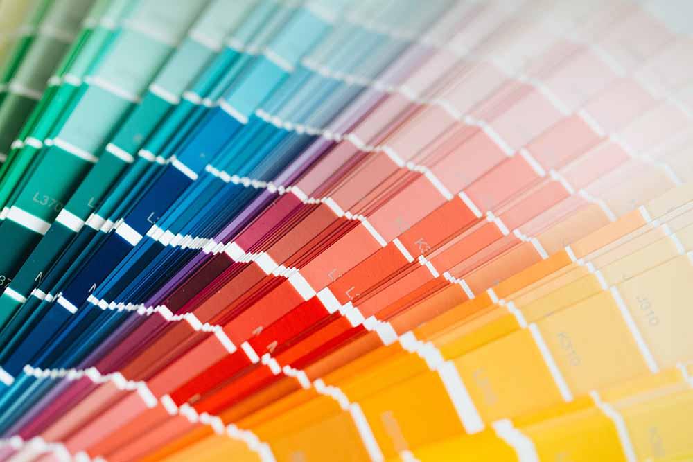 palette colori, psicologia dei colori