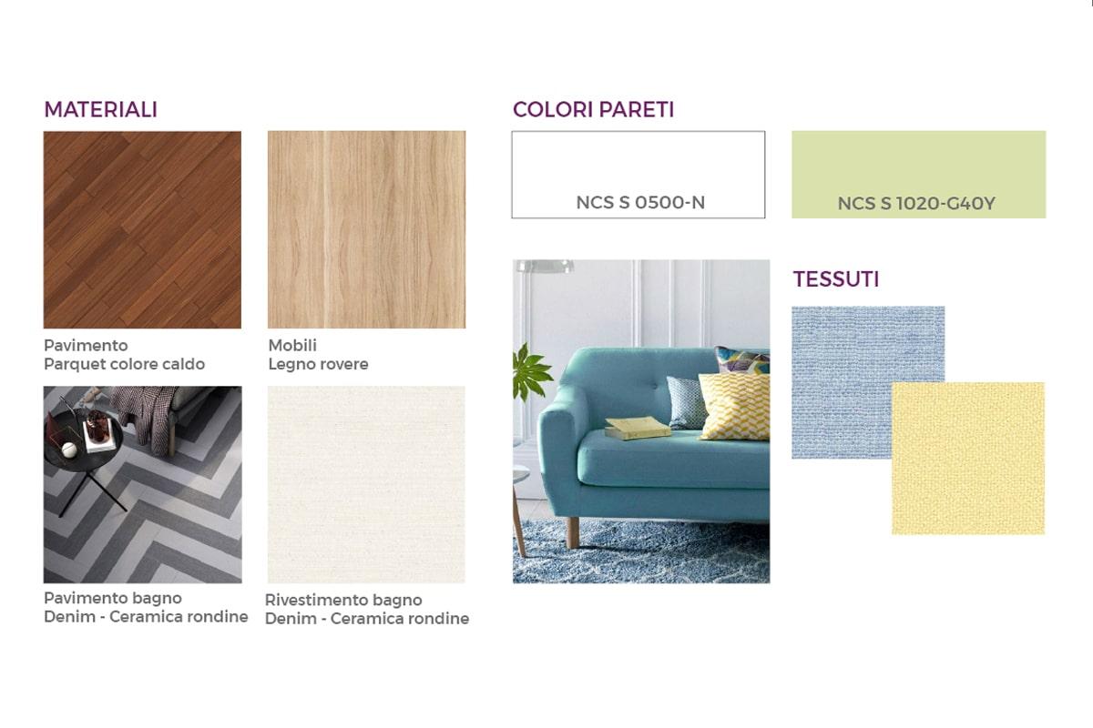 Colori e materiali architettura casa